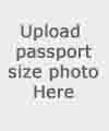 Upload Passport size Photo